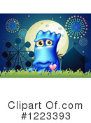 Monster Clipart #1223393 by Graphics RF