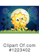Monster Clipart #1223402 by Graphics RF