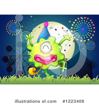 Royalty-Free (RF) Monster Clipart Illustration by Graphics RF - Stock Sample #1223406