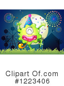 Monster Clipart #1223406 by Graphics RF