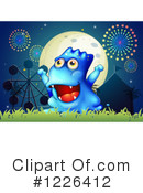 Monster Clipart #1226412 by Graphics RF