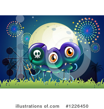 Royalty-Free (RF) Monster Clipart Illustration by Graphics RF - Stock Sample #1226450