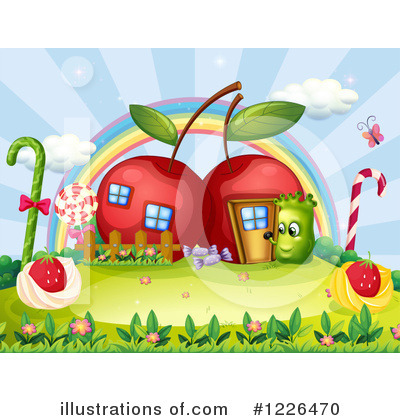 Cherry Clipart #1226470 by Graphics RF