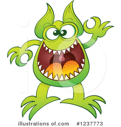 Monster Clipart #1237773 by Zooco