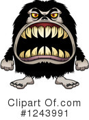 Monster Clipart #1243991 by Cory Thoman