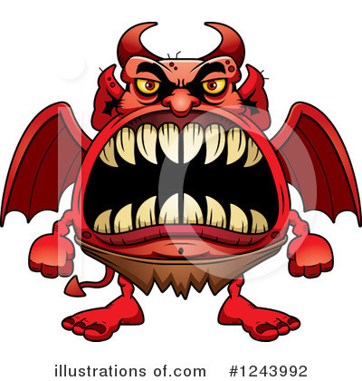 Devil Clipart #1243992 by Cory Thoman