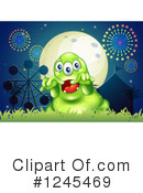 Monster Clipart #1245469 by Graphics RF