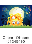 Monster Clipart #1245490 by Graphics RF