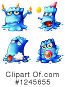 Monster Clipart #1245655 by Graphics RF