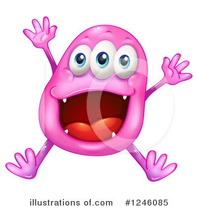 Monster Clipart #1246085 by Graphics RF