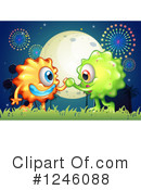 Monster Clipart #1246088 by Graphics RF