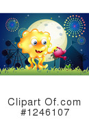 Monster Clipart #1246107 by Graphics RF