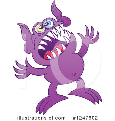 Monster Clipart #1247602 by Zooco
