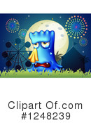 Monster Clipart #1248239 by Graphics RF