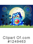 Monster Clipart #1249463 by Graphics RF