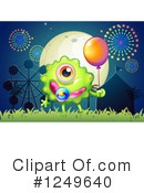 Monster Clipart #1249640 by Graphics RF