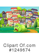 Monster Clipart #1249674 by Graphics RF