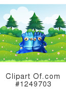 Monster Clipart #1249703 by Graphics RF