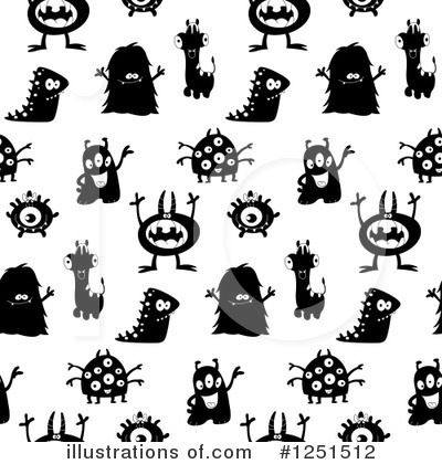 Monsters Clipart #1251512 by yayayoyo