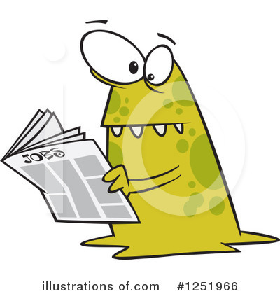 Monster Clipart #1251966 by toonaday