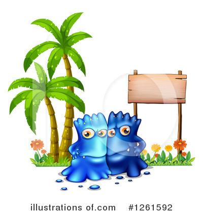 Monster Clipart #1261592 by Graphics RF