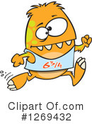 Monster Clipart #1269432 by toonaday