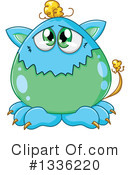 Monster Clipart #1336220 by Liron Peer