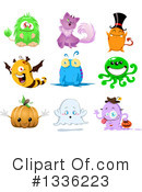 Monster Clipart #1336223 by Liron Peer
