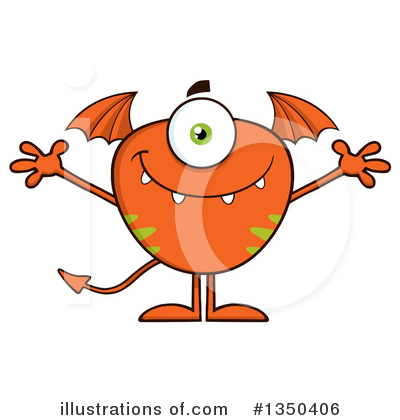 Monster Clipart #1350406 by Hit Toon