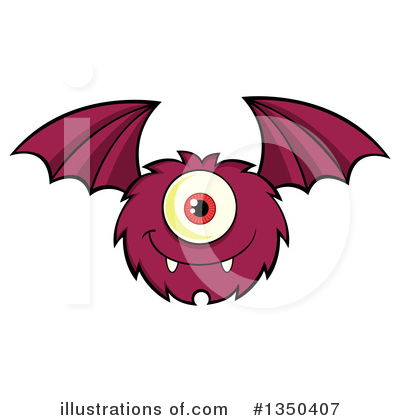 Monster Clipart #1350407 by Hit Toon