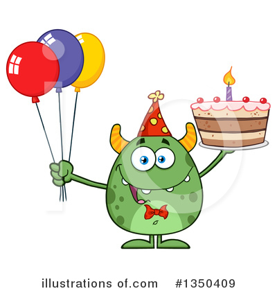 Monster Clipart #1350409 by Hit Toon