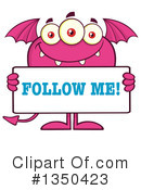 Monster Clipart #1350423 by Hit Toon