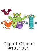 Monster Clipart #1351961 by Hit Toon