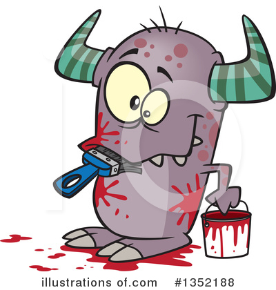 Monster Clipart #1352188 by toonaday