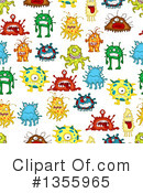 Monster Clipart #1355965 by Vector Tradition SM