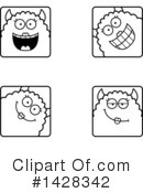Monster Clipart #1428342 by Cory Thoman