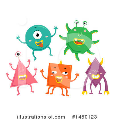Alien Clipart #1450123 by BNP Design Studio