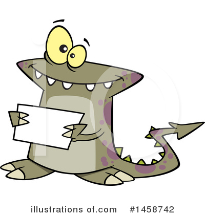 Monster Clipart #1458742 by toonaday
