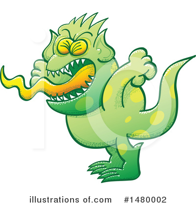 Monster Clipart #1480002 by Zooco