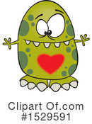 Monster Clipart #1529591 by toonaday