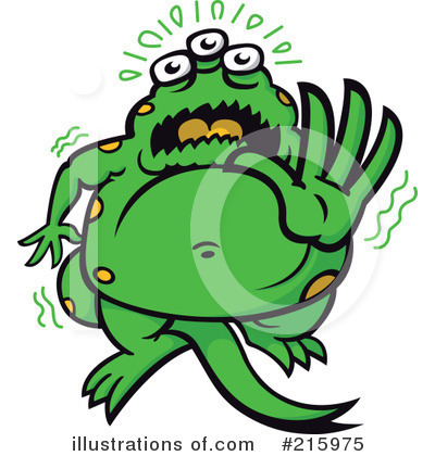 Monster Clipart #215975 by Zooco