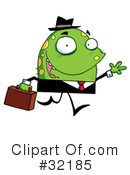 Royalty-Free (RF) monster Clipart Illustration #32185