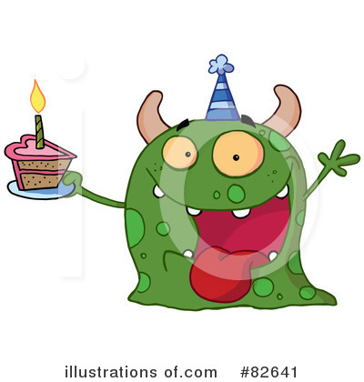 Monster Clipart #82641 by Hit Toon