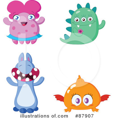 Monster Clipart #87907 by yayayoyo