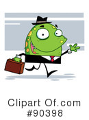 Royalty-Free (RF) monster Clipart Illustration #90398