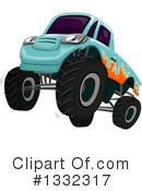 Monster Truck Clipart #1332317 by BNP Design Studio