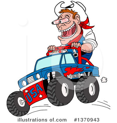 Hillbilly Clipart #1370943 by LaffToon