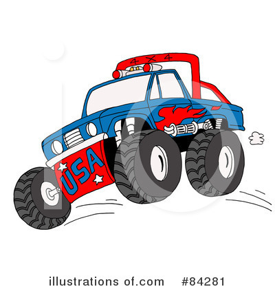Pickup Clipart #84281 by LaffToon