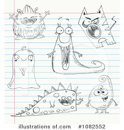 Monster Clipart #1082552 by yayayoyo