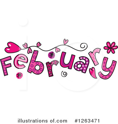 Royalty-Free (RF) Month Clipart Illustration by Prawny - Stock Sample #1263471